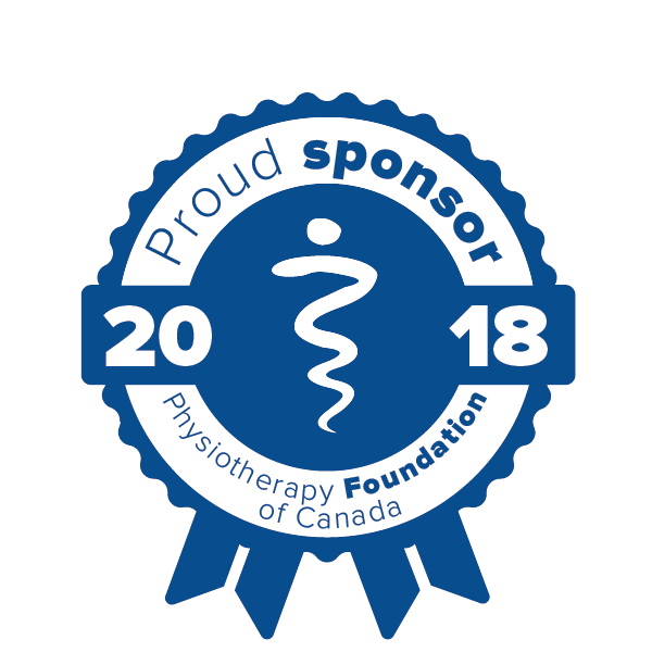 Proud sponsor of the Physiotherapy Foundation of Canada